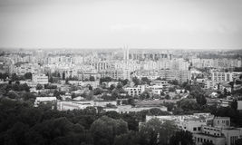 Bucharest from above Royalty Free Stock Images