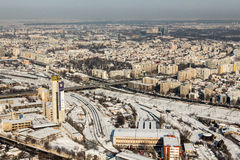 Bucharest - aerial view Stock Photos