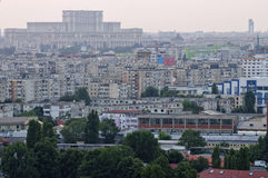 Bucharest - aerial view Stock Photography