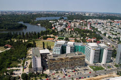 Bucharest - aerial view Stock Image