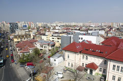 Bucharest aerial view Royalty Free Stock Photo