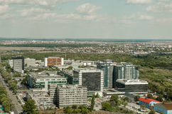 Bucharest Aerial View royalty free stock image