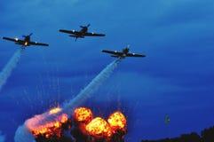 Bucharest Airshow Arkivfoto