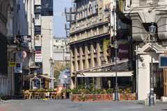 Bucharest-alte Stadt Lizenzfreie Stockfotografie