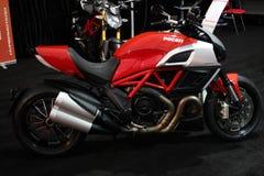 MOTORBIKE DUCATI DIAVEL 1200 Stock Images