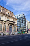 Bucharest architecture Royalty Free Stock Photo