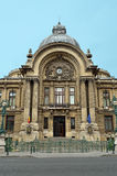 The CEC Palace in Bucharest, Romania. Stock Image