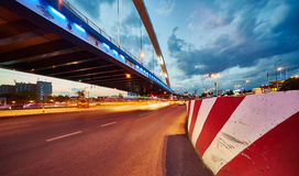 Bucharest Basarab Grozavesti Overpass Stock Photography
