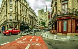 Bucharest Bike Track Stock Photography