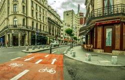 Bucharest Bike Track Stock Photo