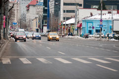 Bucharest boulevard Stock Image