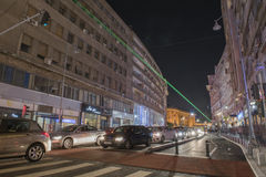 Bucharest - Calea Victoriei royalty free stock images