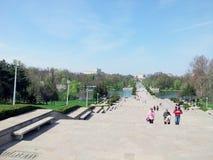 Bucharest - Carol Park Royaltyfria Foton