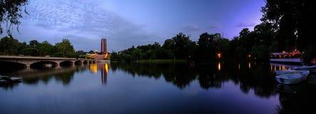 Bucharest -- Carol Park Panorama Stock Image