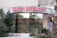 Bucharest Casino stock images