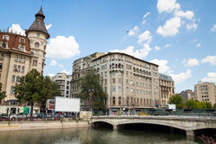 Bucharest,center of city stock photos