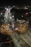 Bucharest Christmas Lights Royalty Free Stock Photos