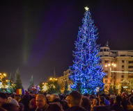 Bucharest christmas market Royalty Free Stock Photography