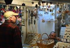 Bucharest Christmas Market Stock Image