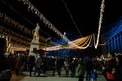 Bucharest Christmas Market Royalty Free Stock Images