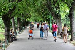 Bucharest - Cismigiu Gardens Royalty Free Stock Photography