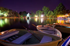 Bucharest - Cismigiu lake Stock Photography