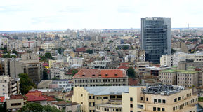 Free Bucharest City Aerial View Royalty Free Stock Photos - 16009148
