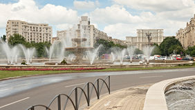 Bucharest city center Stock Photography