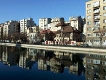 Bucharest city landscape Royalty Free Stock Photo