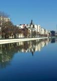 Bucharest city landscape Royalty Free Stock Images