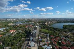 Bucharest city stock photography