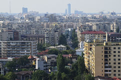 Bucharest - city view Royalty Free Stock Photos