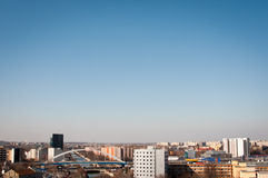 Bucharest cityscape Stock Photo