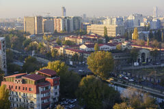 Bucharest cityscape Royalty Free Stock Photography