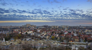 Bucharest cityscape Royalty Free Stock Image