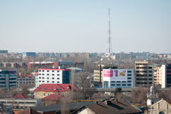 Bucharest cotroceni cityscape Royalty Free Stock Images