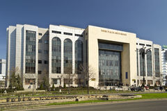 Bucharest Courthouse Royalty Free Stock Photo