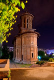 Bucharest - Cretulescu Church by night Stock Photography