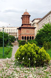 Bucharest - Cretulescu garden and church Stock Photos