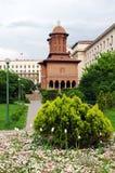 Bucharest - Cretulescu Garten und Kirche Stockfotos