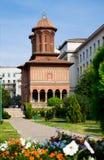 Bucharest - Cretulescu kyrka Arkivbild