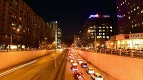 Bucharest czasu upływ na Wiktoria przejściu zbiory wideo