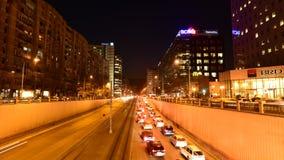 Bucharest czasu upływu materiał filmowy folował hd Wiktoria kwadrat zbiory