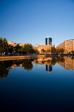 Bucharest - Dambovita River Stock Photos