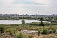 Bucharest delta Royaltyfri Fotografi