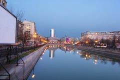 Bucharest down town Stock Photos