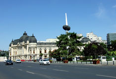 Bucharest downtown Stock Images