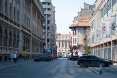 Bucharest downtown Stock Photos