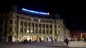 Bucharest downtown stock footage