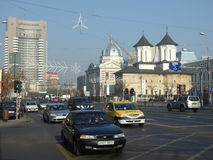 Bucharest downtown royalty free stock images